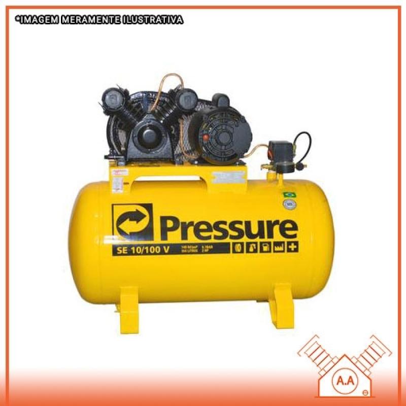 Compressor de Ar Comprimido Industrial Santos - Compressor Frio Industrial