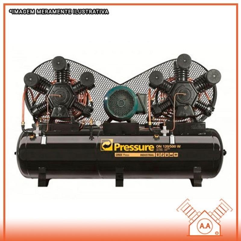 Compressor de Ar Industrial Comprar Diadema - Compressor Industrial de Grande Porte