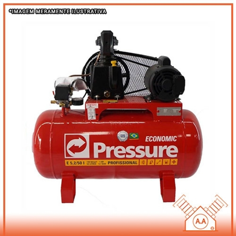Compressor de Ar Pistão sob Medida Peruíbe - Compressor de Pistão Industrial