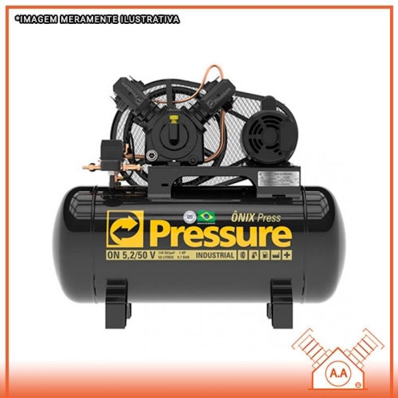 Compressor de Ar Pistão Mongaguá - Compressor de Ar 2 Pistão