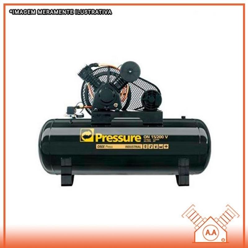 Compressor de Pistão Simples Efeito sob Medida Praia Grande - Compressor de Ar Pistão