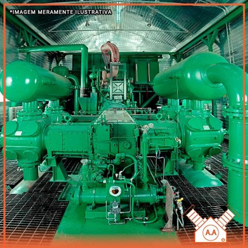 Compressor Industrial de Grande Porte Riviera de São Lourenço - Compressor de Ar Industrial