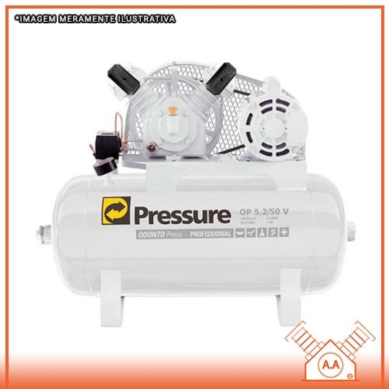 Compressor Odontológico 1hp Cubatão - Compressor Odontológico Silencioso