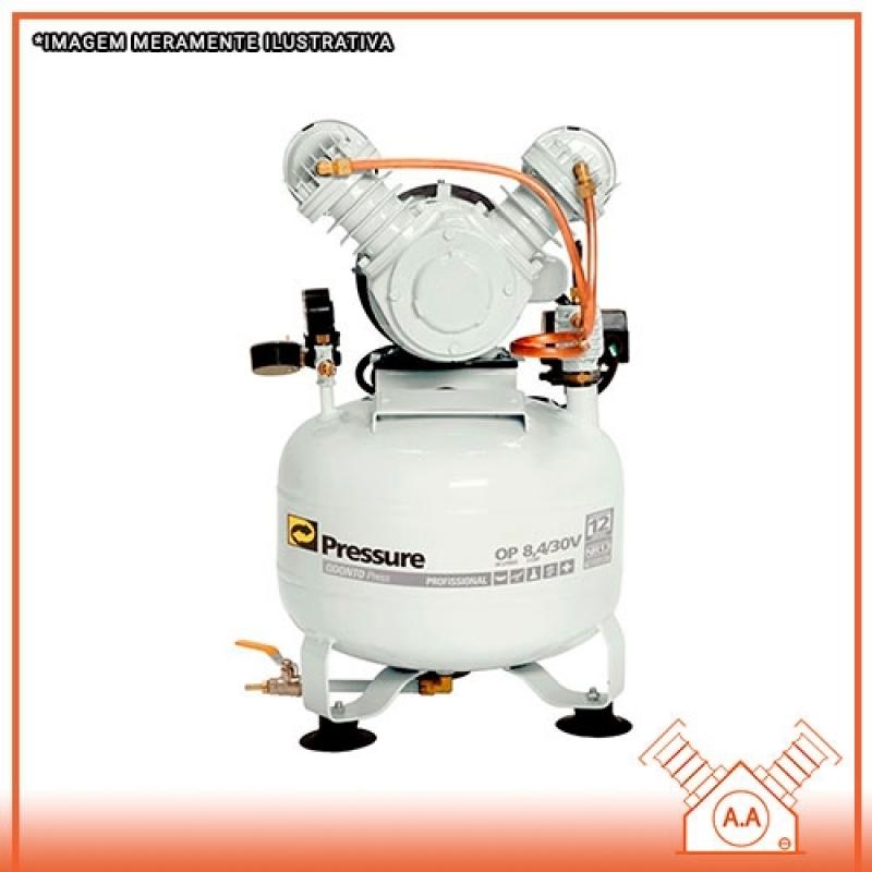 Compressor Odontológico 40 Litros Suzano - Compressor Odontológico para 2 Consultórios