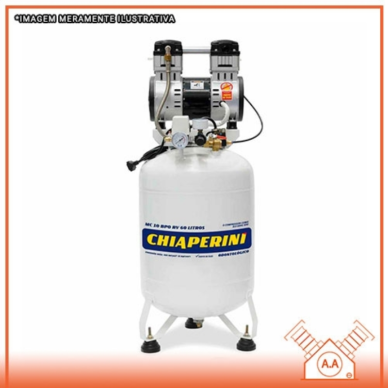Compressor Odontológico no Banheiro Preço Santos - Compressor Odontológico 120 Litros