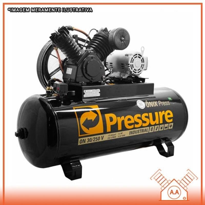Compressores Alternativo de Pistão Simples Mauá - Compressor de Pistão Industrial