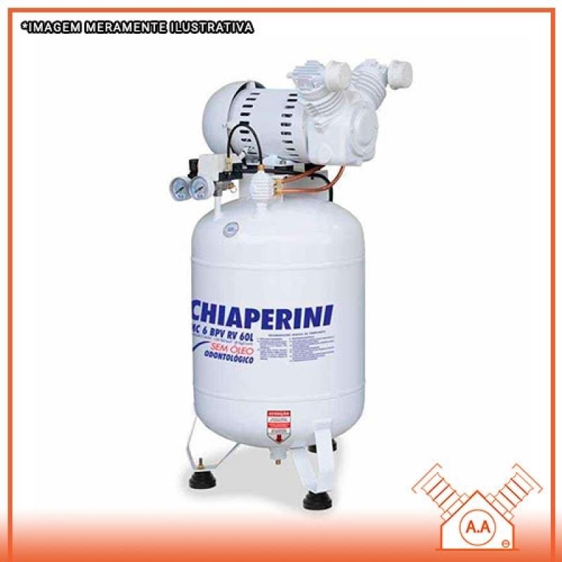 Confeccionar Compressor Odontológico 60 Litros Suzano - Compressor Odontológico a óleo