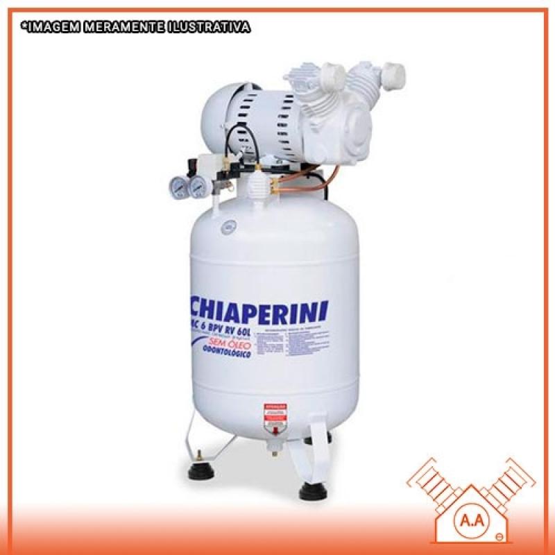 Empresa de Manutenção Compressor Odontológico Cubatão - Manutenção de Compressor Industrial