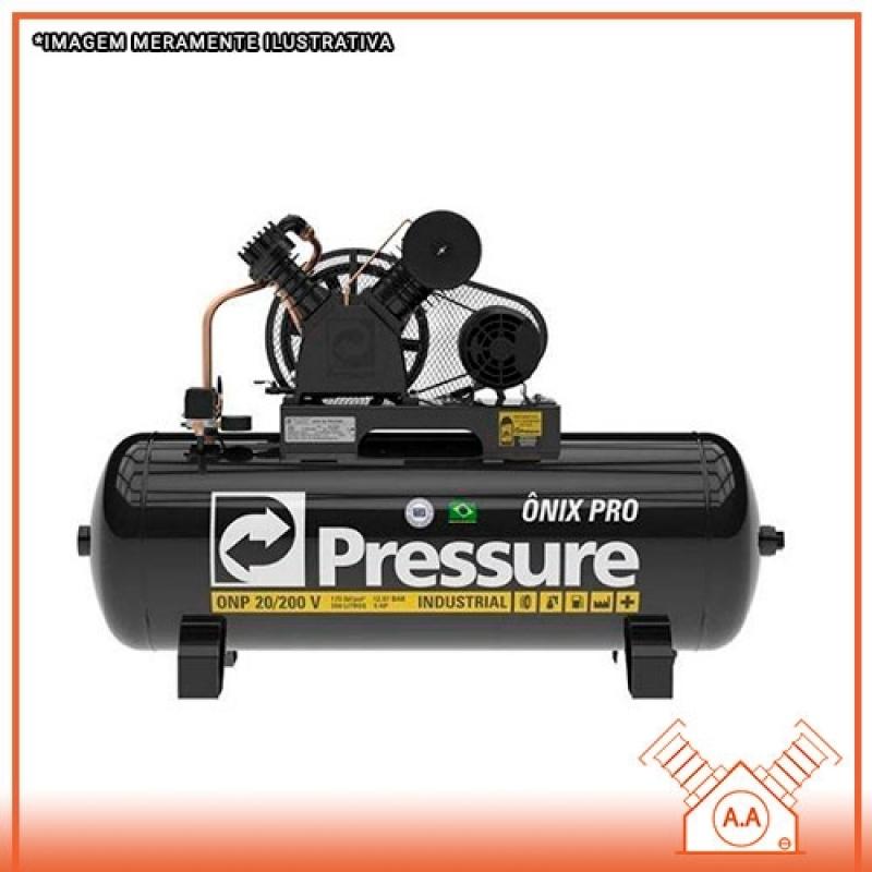 Onde Encontrar Compressor de Ar Industrial Santo André - Compressor de Ar Industrial