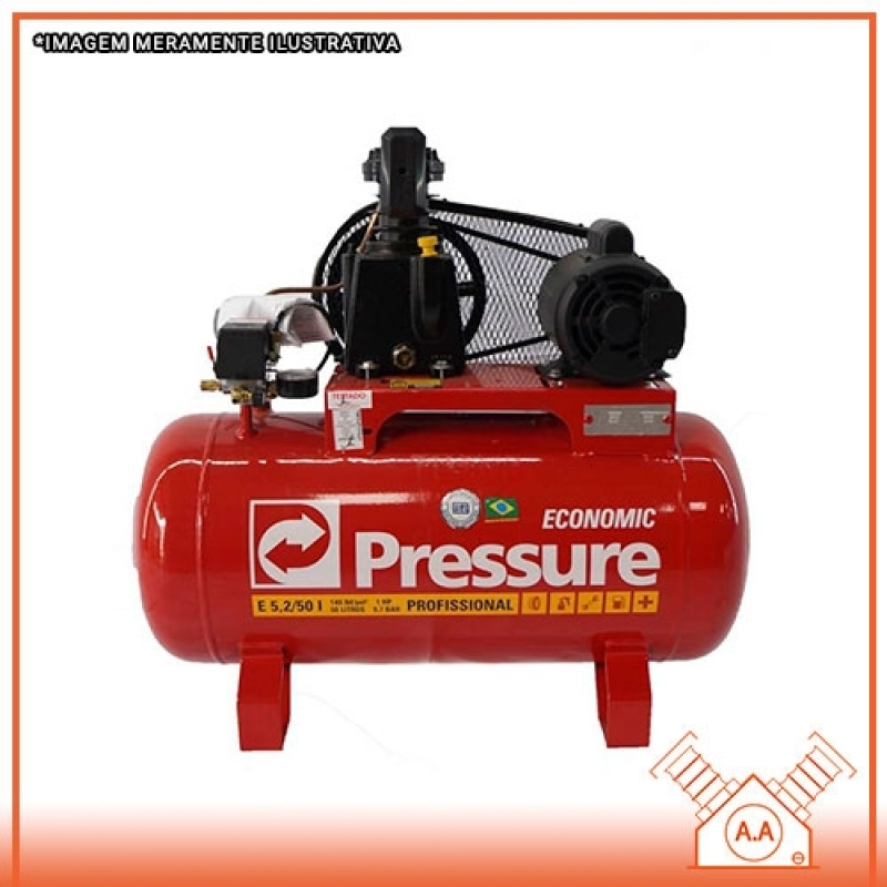 Preço de Compressor Alternativo de Pistão Simples Itu - Compressor de Pistão Simples Efeito