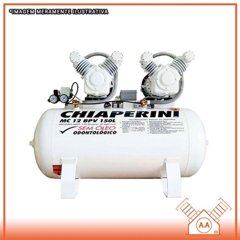 Projeto para Compressor Odontológico 100 Litros Ilhabela - Compressor Odontológico a óleo