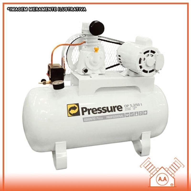 Projeto para Compressor Odontológico 1hp Guarulhos - Compressor Odontológico 50 Litros
