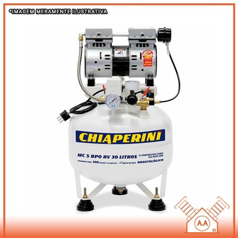 Projeto para Compressor Odontológico 50 Litros Cananéia - Compressor Odontológico a óleo