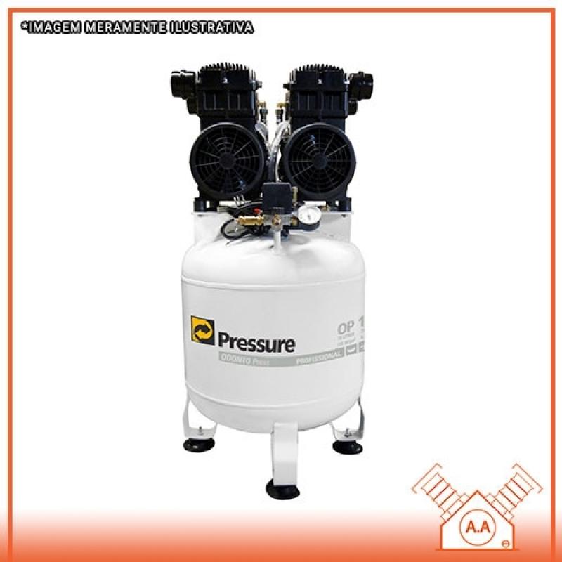 Projeto para Compressor Odontológico no Banheiro Santos - Compressor Odontológico 120 Litros