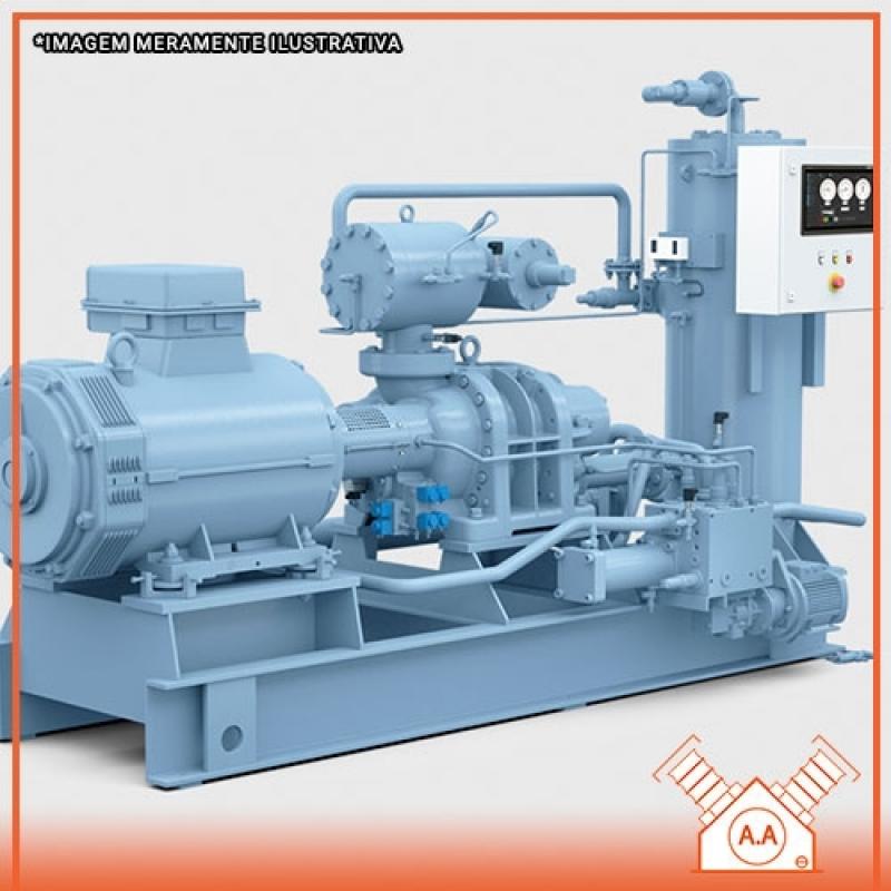 Restauração de Compressor Industrial Gigante Cananéia - Compressor Industrial de Grande Porte
