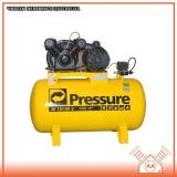 compressor de ar comprimido industrial Santos