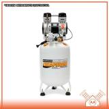 compressor odontológico 60 litros Ilha Comprida