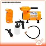 manutenção em compressor de ar direto